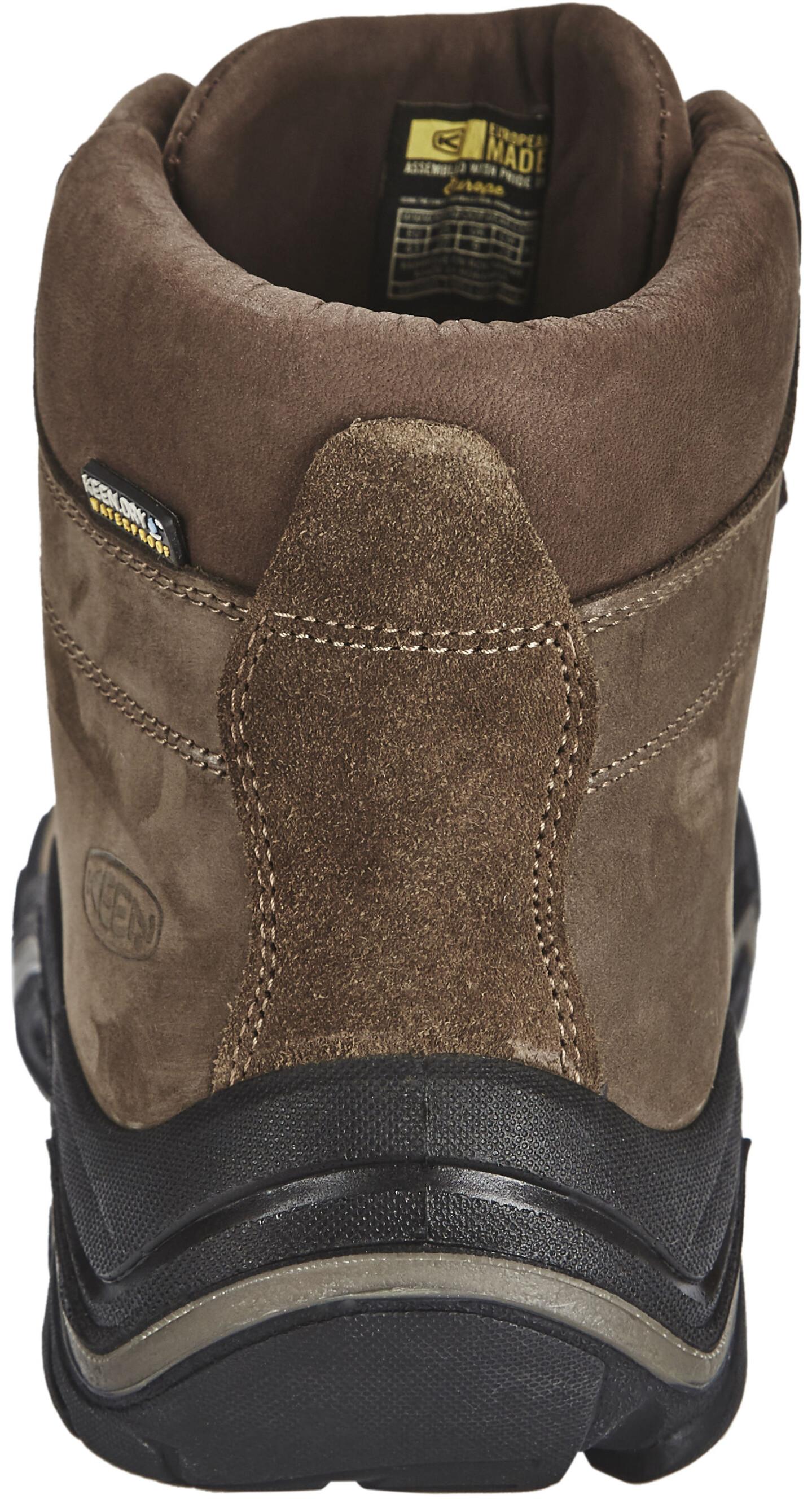 553e2075bb7 Keen Feldberg WP - Chaussures Homme - marron sur CAMPZ !